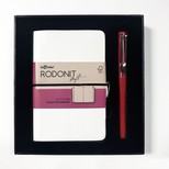 Lecolor Rodonit Soft Defter+Kalem Beyaz