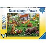 Ravensburger Bahçede 200 Parça Puzzle (128280)