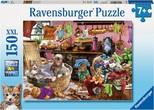 Rav-Puz.150 Cats In Kitchen 100316