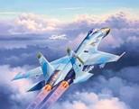 Revell Su-27 Flanker 1/144 Maket (3948)