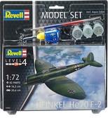 Revell Modelset Heinkel He70 F-2 1/72 Maket (3962)