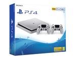 PS4 500GB Silver + DS4 Silver