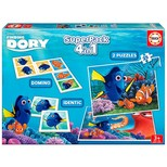 Educa-Puz.Superpack Dory 4in1 16691, N/A