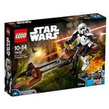 LEGO - Star Wars Constraction Scout Trooper ve Speeder Motosikleti