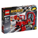 LEGO - Speed Champions  Ferrari FXX K ve Geliştirme Merkezi