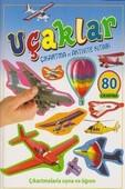 Uçaklar Çıkartma ve Aktivite Kitabı