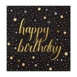Roll-Up Peçete Işıltılı Doğum Günü