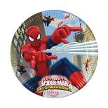 Spiderman Kağıt Tabak