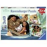 Ravensburger WD Moanna 3x49 Parça Puzzle (80045)