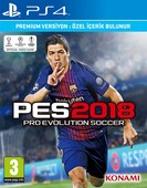 PS4 PES 2018 PREMIUM EDITION