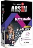 2018 KPSS Arşiv Matematik Tamamı Çözümlü
