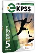 2018 E KPSS 5 Deneme Sınavı Çözümlü