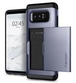 Spigen Galaxy Note 8 Kılıf,  Slim Armor CS Orchid Gray 587CS22073