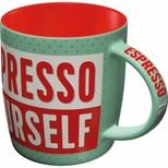 Nostalgic Art Espresso Yourself Kupa 43031