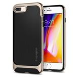 Spigen iPhone 8 / 7 Plus Kılıf, Neo Hybrid Herringbone Champagne Gold