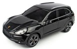 Rastar-Porsche Cayenne Turbo Uzaktan Kumandalı Jeep 1:24 / Siyah