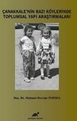 Çanakkale'nin Bazı Köylerinde Toplumsal Yapı Araştırmaları