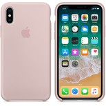 Apple iPhone X Silikon Kılıf, Kum Pembesi MQT62ZM/A