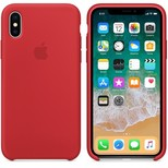 Apple iPhone X Silikon Kılıf, (PRODUCT)RED MQT52ZM/A