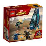 Lego-Super Heroes Outrider İndirme Gemisi Saldırısı
