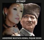 Askeriniz Mustafa Kemal Paşam Senin
