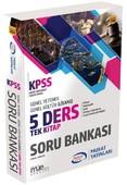 2018 KPSS GY-GK 5 Ders Tek Kitap Soru Bankası