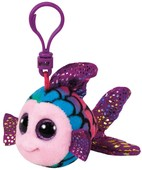 Ty Peluş Anahtarlık - Flippy Multicolor Fish Clip