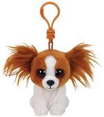 Ty Peluş Anahtarlık - Barks Brown Dog Clip
