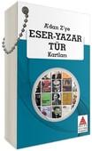 A'dan Z'ye Eser-Yazar Tür Kartları