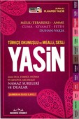 Yasin-Türkçe Okunuşlu ve Mealli,Sesli-Kırmızı Kapak Orta Boy