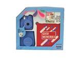 Mini 9 Box Scrapbook, Mavi