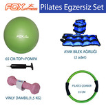 Fox Fitness Pilates Egzersiz Set