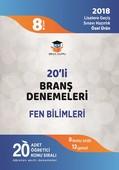 8.Sınıf LGS Fen Bilimleri 20'li Branş Denemeleri