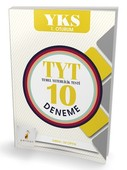 YKS-TYT 10 Deneme 1.Oturum
