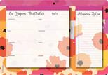 Fabooks Bloknot Ev Yapımı Mutluluk Yemek Planlayıcı ve Alışveriş Listesi