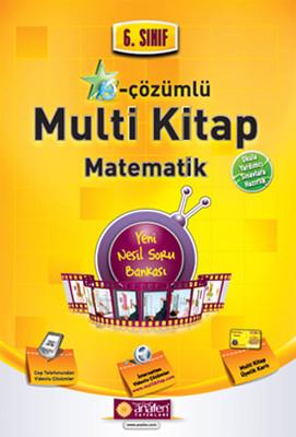 Anafen 6. Sınıf E-Çözümlü Multi Kitap Matematik