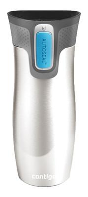 Contigo Autoseal Vacuum Insulated Stainless Steel Mug West Loop Paslanmaz Çelik Mavi 1000-0007