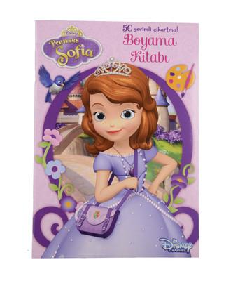 Disney Prenses Sofia - Çıkartmalı Boyama Kitabı