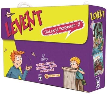 Levent Türkiye'yi Geziyor 2 - 5 Kitap Takım