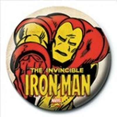 Pyramid International Rozet - Iron Man - Invincible