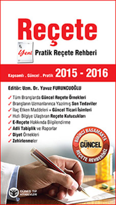 Reçete 2015 - 2016