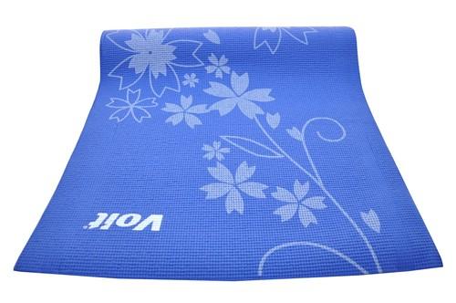 Voıt Yoga Mat Desenli Mavi 1VTAKEM113/034