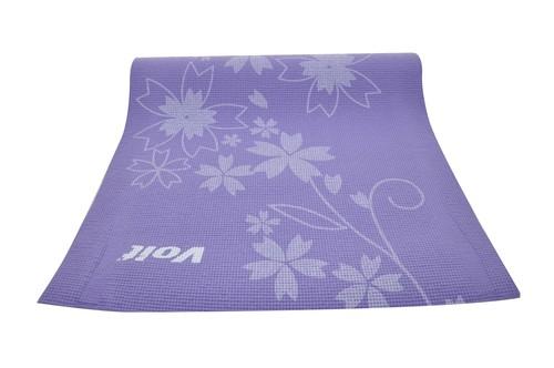 Voit Yoga Mat Desenli Mor