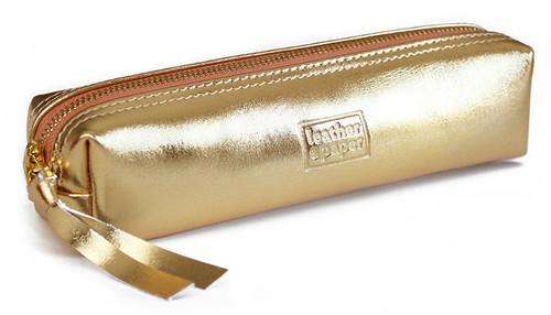 Leather & Paper Altın Kalem Kalem Kutusu