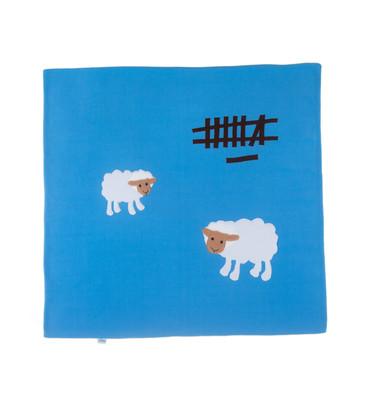Petit Something-Kuzulu Mavi Bebek Battaniyesi