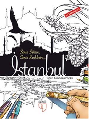 İstanbul Kartpostal Boyama - 20 Adet Kartpostal