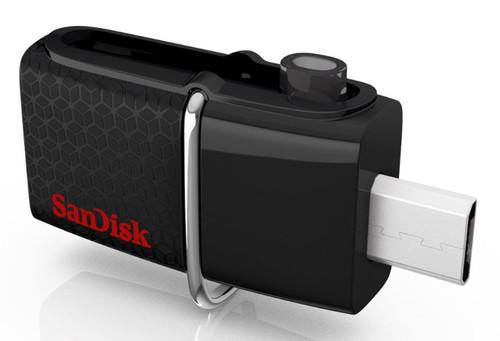Sandisk Ultra Android Dual USB Drive 32GB Black SDDD2-032G-GAM46