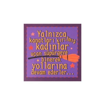 BİG K.Ayraç KAM 54 Yalnızca Kanatları...