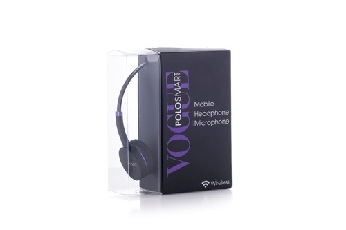 Polo Smart Vouge Wireless Kulaklık Mor -Pvg-01
