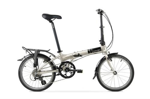 Dahon Katlanabilir Bisiklet 2017 Mariner D8 Gümüş